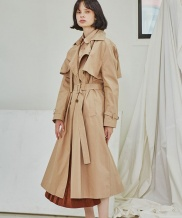[Sorry, Too Much Love] Classic Trench Coat