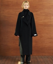 [TMO BY 13MONTH] HANDMADE BELTED DOUBLE COAT