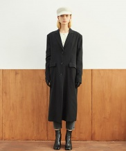[TMO BY 13MONTH] SINGLE BUTTON LONG COAT