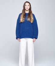 [INDIGO CHILDREN] OVERSIZED ALPACA KNIT