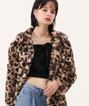 [ODDONEOUT] LEOPARD FAR JAKET