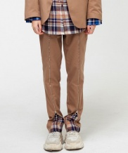 [THE GREATEST] GT18FW13 CHECK ZIPUP PANTS
