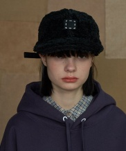 [UNALLOYED] SQUARE FLEECE CAP