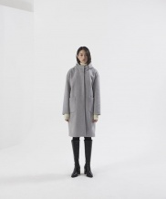 [NONLOCAL] Wool hood Coat