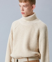 [VOIEBIT] V556 AVIGNON WOOL TURTLENECK KNIT