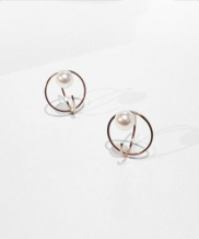 [jubiler] 2 O-RING WITH PEARL