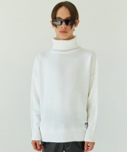 [WOOZO] basic turtleneck knit
