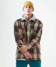 [MADMARS] OVERSIZED CHECK SHIRTS