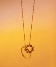 [jubiler] Full bloom_with ring necklace