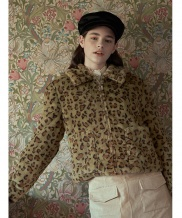 [margarin fingers] leopard eco fur