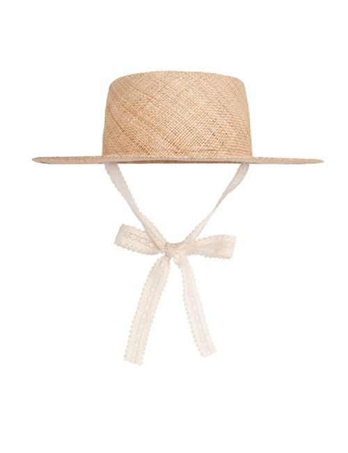 [AWESOME NEEDS] SIGNATURE BOATER HAT RIBBON