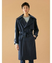 [BONNIE&BLANCHE] UNISEX WINDY TRENCH COAT