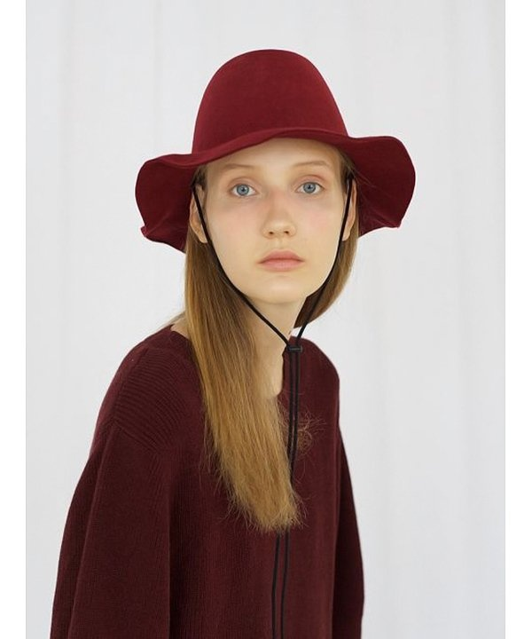 [AWESOME NEEDS] LAMBS WOOL NEW FEDORA HAT