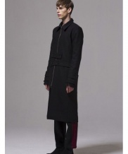 [BY D BY] 2way blet long coat