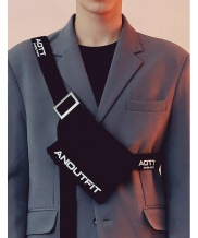 [ANOUTFIT] UNISEX COTTON UTILITY BAG