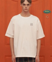 [UNALLOYED] SIZE CHECK T SHIRT
