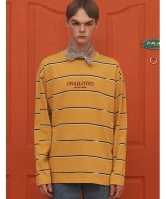 [UNALLOYED] STRIPE LONG SLEEVE T SHIRT