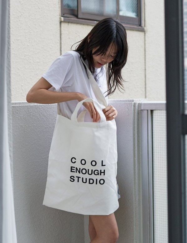 [COOL ENOUGH STUDIO] トートバッグ