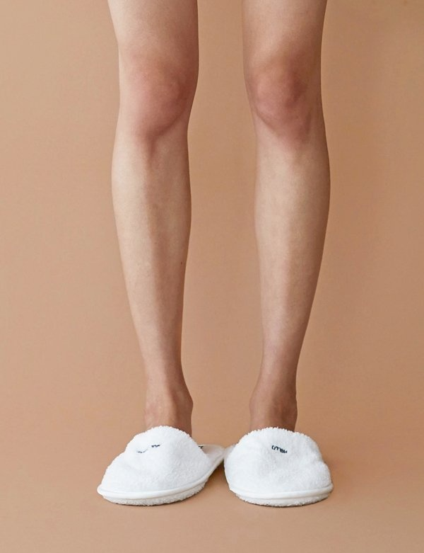 [COOL ENOUGH STUDIO] THE TOWEL SLIPPERS