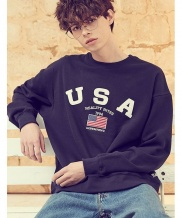 [LIBERTENG] U.S.A SWEAT SHIRTS