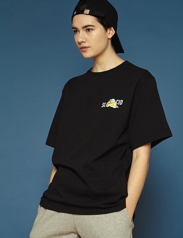[SLOWACID] [UNISEX] Surfer Short T