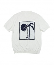 [whatever we want] PALM TREE KNIT
