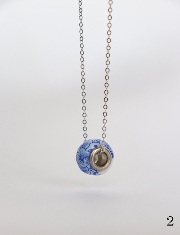 [momentel jewelry] 花瓶 ネックレス