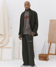 [EGO TRIP] COMBI WIDE PANTS