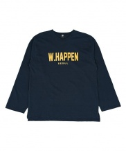 [WHAT HAPPEN] LOGO SINGLE T-SHIRTS