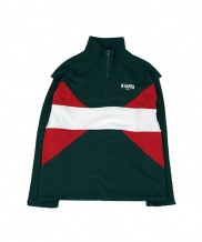 [WHAT HAPPEN] COLORATION HALF ZIP UP