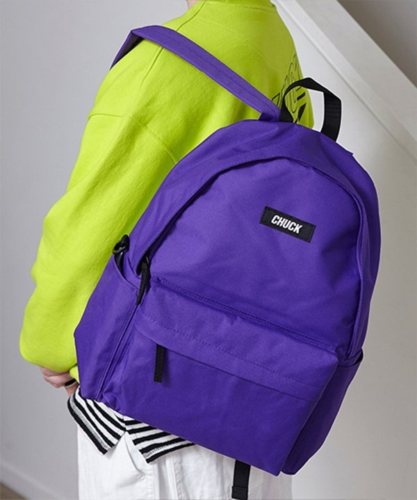 [CHUCK] CHUCK LOGO BASIC BACKPACK