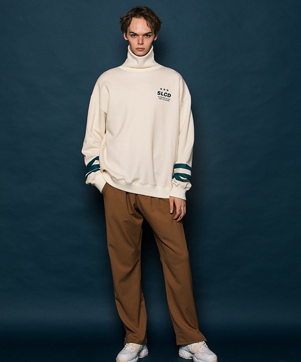 [SLOWACID] Logo Slit Slacks