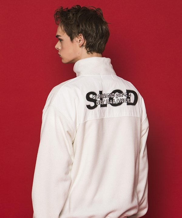 [SLOWACID] SLCD Half Zipup Fleece