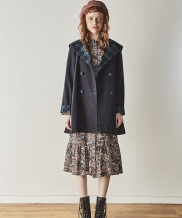 [INES] CHECK POINT TRENCH COAT