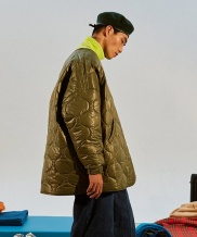 [TRUNK PROJECT] Oversize Long Quilting jacket