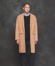 [PRAIRIE] BASIC OVERFIT SINGLE COAT