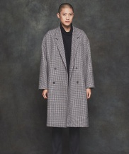 [PRAIRIE] HEAVY WOOL  OVERFIT COAT