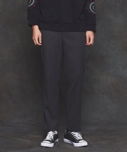 [PRAIRIE] BASIC TAPERED SLACKS