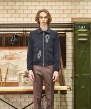 [by Standard] PatchWork Suede Blouson