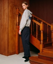 [ANOUTFIT] UNISEX BELTED TROUSER