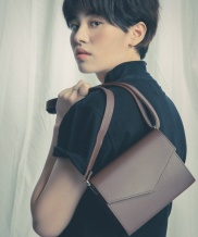 [ATEMSTUDIO] HAKO MINI CROSS BAG_SOLID