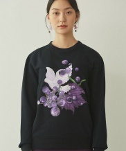 [GOCORI] Dove With Grape Sweatshirts
