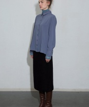 [MOL BY MORE OR LESS] CLASSIC SOFT BLOUSE