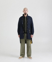 [STONYSTRIDE] LONG TRENCH SHIRTS