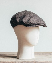 [WILD BRICKS] HERRINGBONE  HUNTING CAP