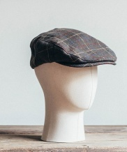 [WILD BRICKS] OB CHECK FLAT CAP