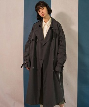 [MAINBOOTH] 8F Oversized Trench Coat