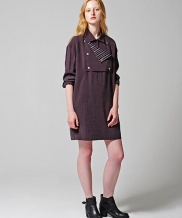 [Maison de Ines] BUTTON POINT LOOSE LINE ONEPIECE