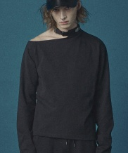 [Oct.3] Off shoulder Belt Neck T