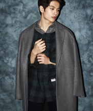 [CODEI'M] OVER FIT HEAVY SOLID TR LONG COAT